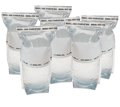 Whirl-Pak 36 oz. (1 L) Stand-up Bags, Emergency Water Collection, Treatment and Storage.