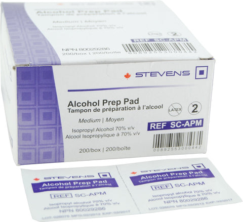 Alcohol Swabs (200/bx)