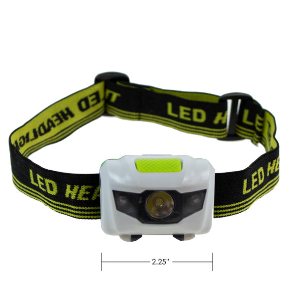 Headlamp LED with Red Light 80 Lumen