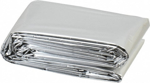 "Emergency survival blanket 84"" x 52"""