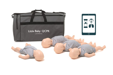 Laerdal Little Baby QCPR - 4 Pack