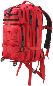 Red Molle Back Pack: Medium