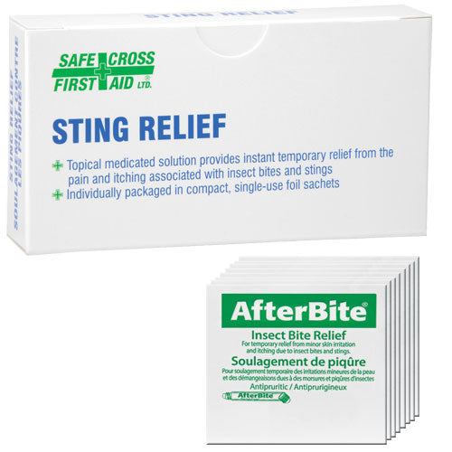 Insect Sting Relief Swabs (25/bx)