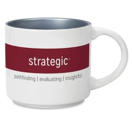 CliftonStrengths Mug - Strategic