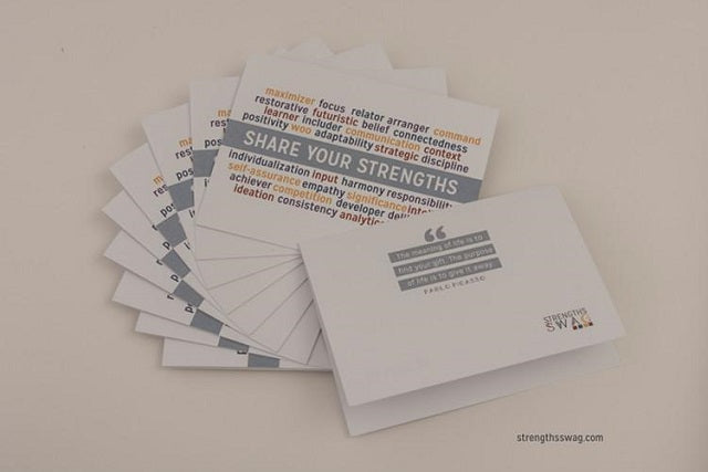 CliftonStrengths Notecards