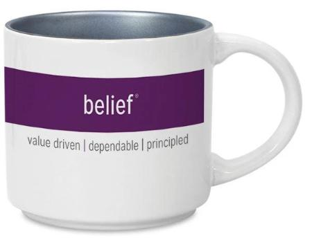 CliftonStrengths Mug - Belief