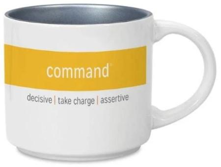 CliftonStrengths Mug - Command