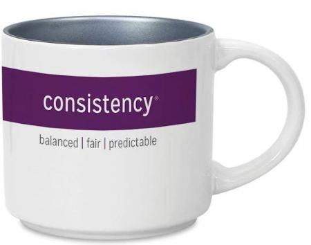 CliftonStrengths Mug - Consistency