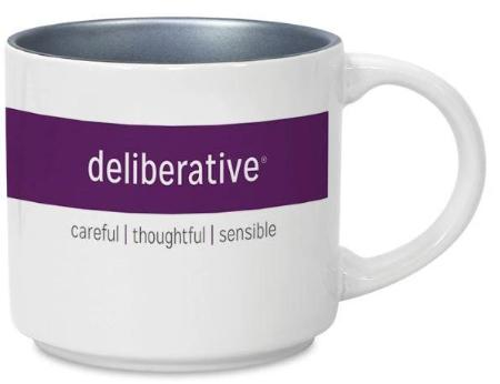 CliftonStrengths Mug - Deliberative