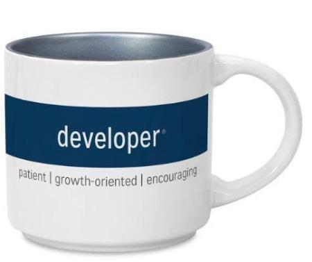 CliftonStrengths Mug - Developer