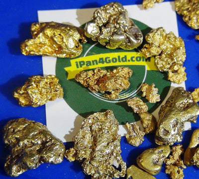 Placer Gold Nuggets