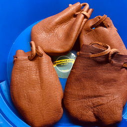 Genuine Deerskin Leather Pouch