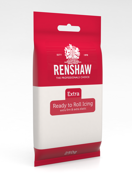 Renshaw Extra White Ready to Roll Fondant Icing 250g