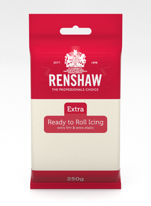 Renshaw Extra Ivory Ready to Roll Fondant Icing 250g
