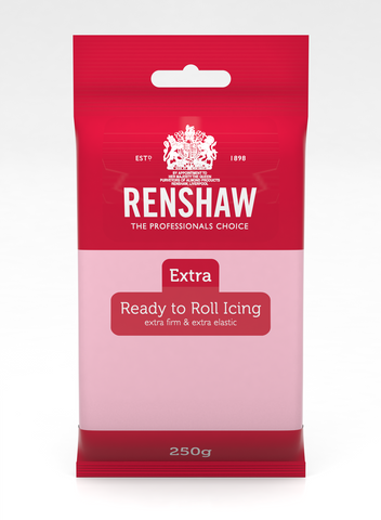 Renshaw Extra Pink Ready to Roll Fondant Icing 250g