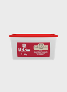 Renshaw Extra Ivory Ready to Roll Fondant Icing 1kg