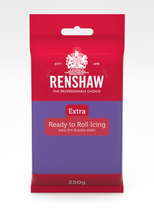Renshaw Extra Purple Ready to Roll Fondant Icing 250g