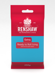 Renshaw Extra Blue Ready to Roll Fondant Icing 250g