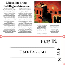 Weekly Print Half-page Ad