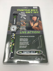 TURTLEMAN TURTLE BOY GIFT WATCH AND KNIFE COMBO