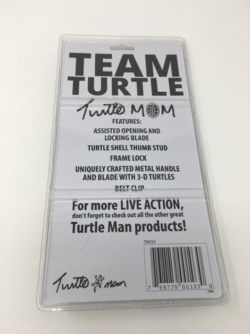 TURTLE MAN TURTLE MOM ASSISTED OPENING FRAMELOCK