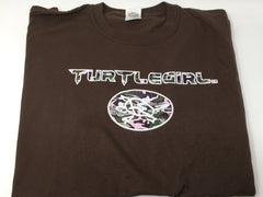 TURTLEMAN  TURTLEGIRL CAMO SHIRT WITH AUTHENTIC TURTLEMAN SIGNATURE
