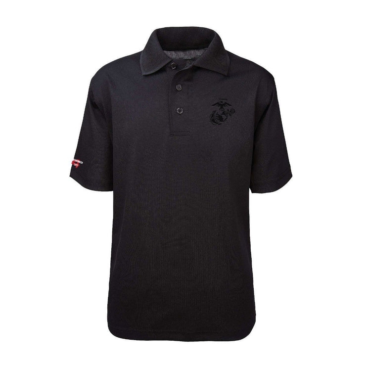 EGA Subdued Performance Polo Shirt - Polo Shirt- Leatherneck For Life