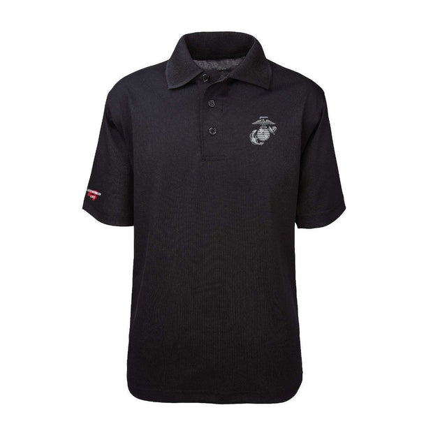 EGA Classic Performance Polo Shirt - Polo Shirt- Leatherneck For Life