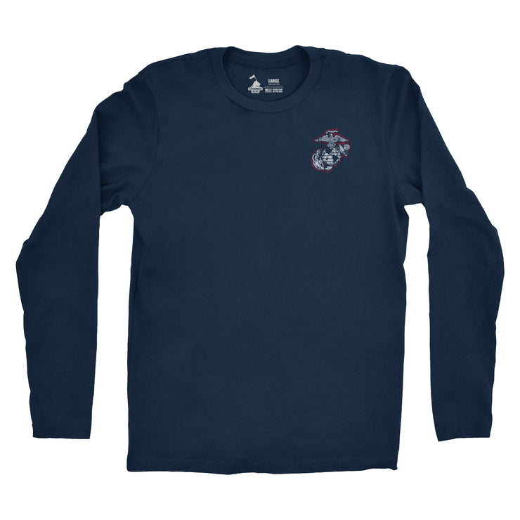 The 245th Marine Corps Birthday Long Sleeve T-Shirt