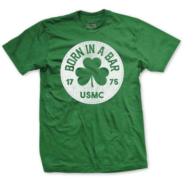 Born in a Bar St Patrick's Day Shirt