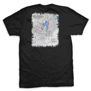Chosin Reservoir Battle Map T-Shirt