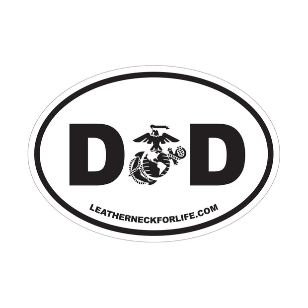 DAD EGA Oval Decal