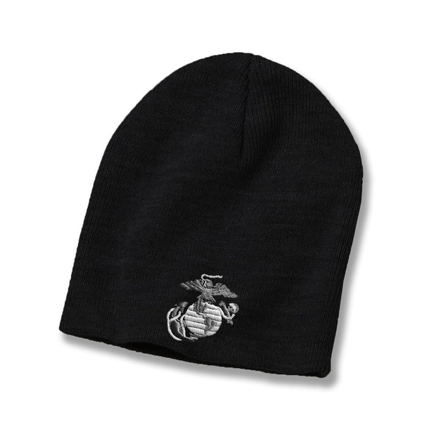 Classic Eagle Globe & Anchor Beanie - Covers- Leatherneck For Life
