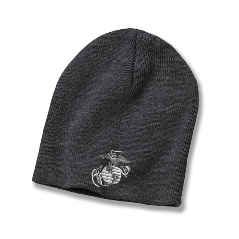 Image of Classic Eagle Globe & Anchor Beanie - Covers- Leatherneck For Life
