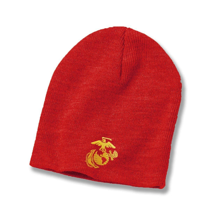 Eagle Globe & Anchor Beanie - Covers- Leatherneck For Life