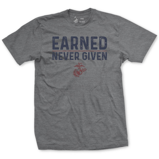 Earned Never Given Vintage T-Shirt