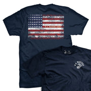 """Spirit of 1917"" USMC Vintage Flag T-Shirt"