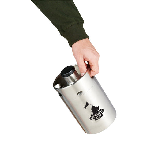 Image of Leatherneck for Life 64 oz. Vacuum Insulated Growler Keg
