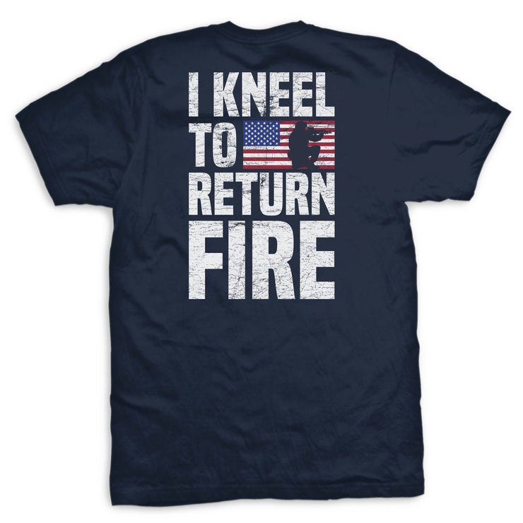 Return Fire Flag T-Shirt
