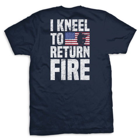 Image of Return Fire Flag T-Shirt