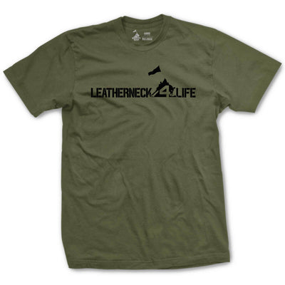 Leatherneck for Life Not-So-Basic T-Shirt