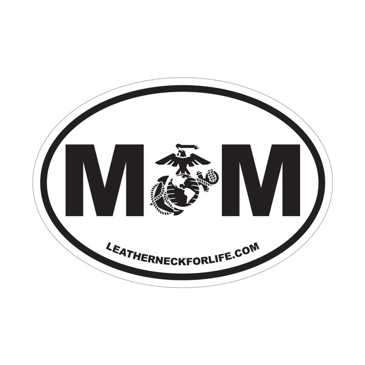 MOM EGA Oval Decal