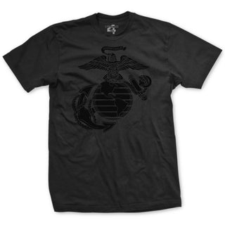 Black Out Eagle Globe and Anchor T-Shirt