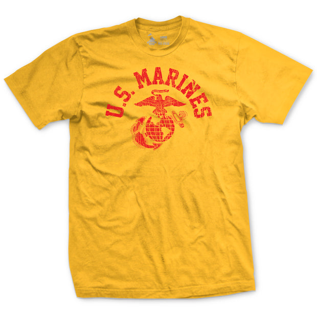 Old School Gold USMC T-Shirt