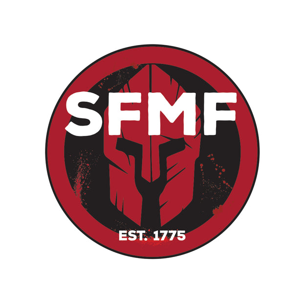 SFMF Spartan Round Decal
