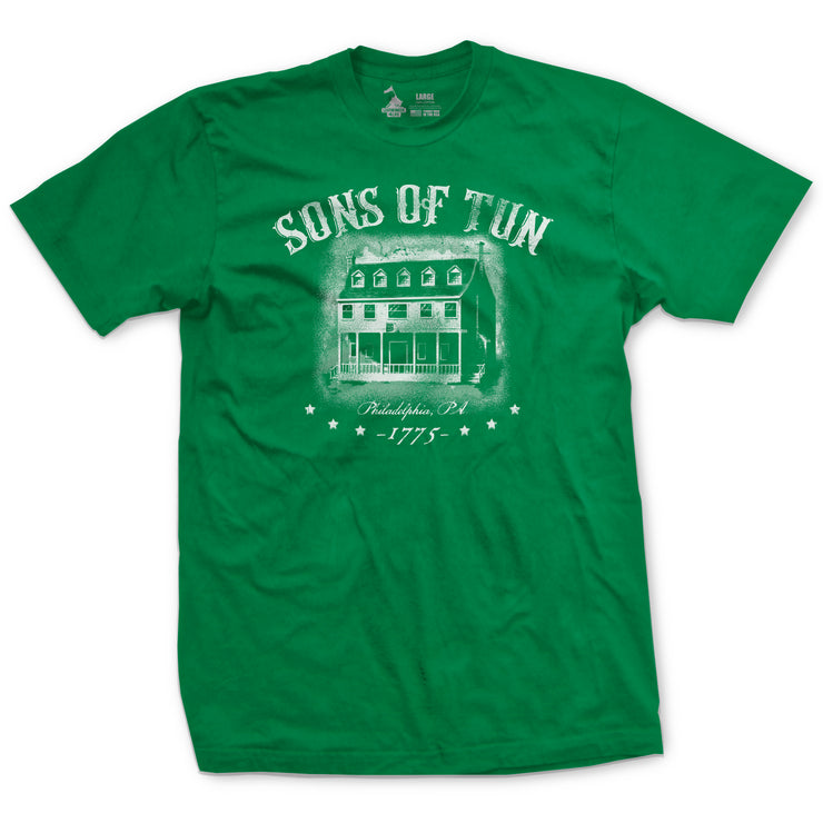 Sons of Tun Vintage T-Shirt - Kelly Green