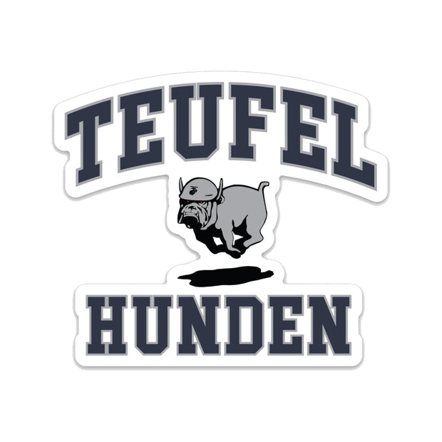 Teufel Hunden Die Cut Decal