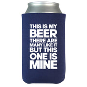 This is My Beer Coolie- Navy