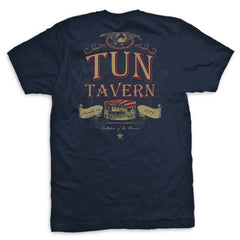 Tun Tavern Eagle Vintage T-Shirt - Mens T-shirts- Leatherneck For Life