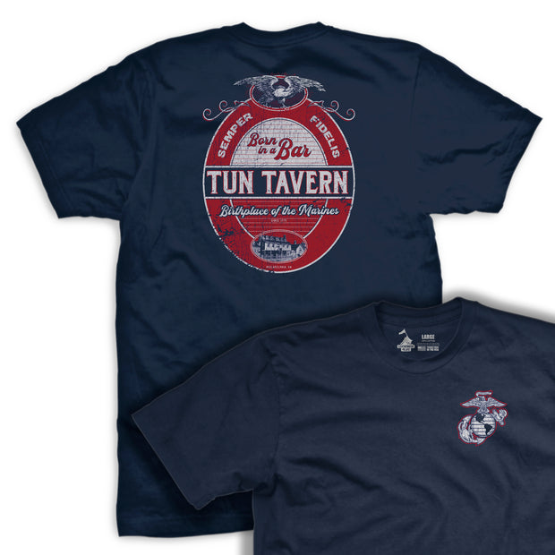 Tun Tavern Label T-Shirt